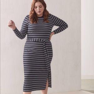 Striped Maxi Dress NWOT